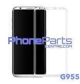G955 Gebogen tempered glass - zonder verpakking voor Galaxy S8 Plus - G955 (25 stuks)