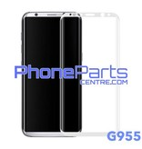 G955 Curved tempered glass - retail packing for Galaxy S8 Plus - G955 (10 pcs)