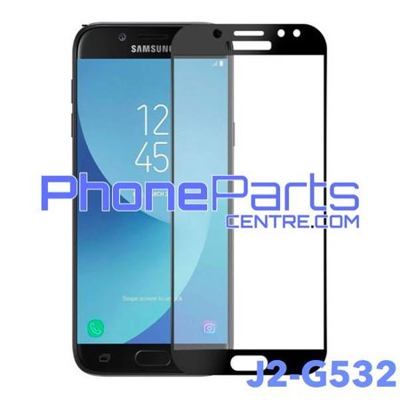 G532 5D tempered glass premium quality - no packing for Galaxy J2 Prime (2016) - G532 (10 pcs)
