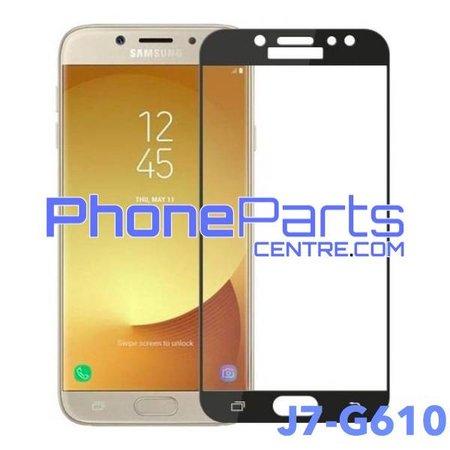 G610 5D tempered glass - winkelverpakking voor Galaxy J7 Prime (2016) - G610 (10 stuks)