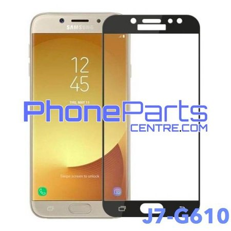 G610 5D tempered glass premium quality - no packing for Galaxy J7 Prime (2016) - G610 (25 pcs)