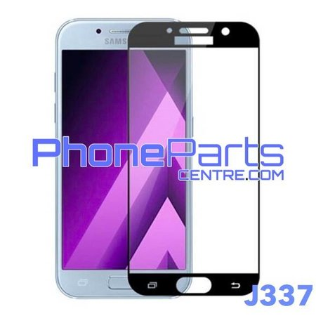 J337 5D tempered glass - retail packing for Galaxy J3 (2018) - J337 (10 pcs)
