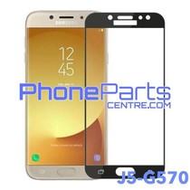 G570 5D tempered glass - zonder verpakking voor Galaxy J5 Prime (2016) - G570 (25 stuks)