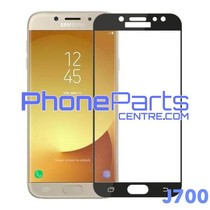 J700 5D tempered glass - retail packing for Galaxy J7 (2015) - J700 (10 pcs)
