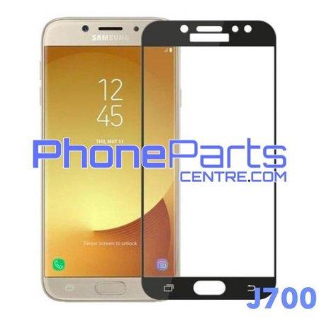 J700 5D tempered glass premium quality - no packing for Galaxy J7 (2015) - J700 (25 pcs)