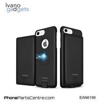 Ivano Magnetisch Batterij Hoesje voor iPhone 6 6S 7 and 8 - 4.000 mAh (2 stuks)