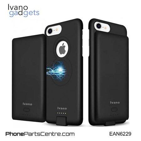 Ivano Ivano Magnetisch Batterij Hoesje voor iPhone 6+ 6s+ 7+ and 8+ - 5.000 mAh (2 stuks)