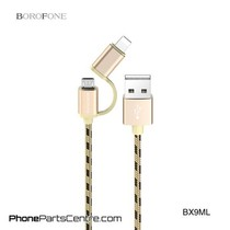 Borofone Micro-USB Cable + Lighting BX9ML (20 pcs)