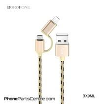 Borofone Micro-USB Kabel + Lighting BX9ML (20 stuks)