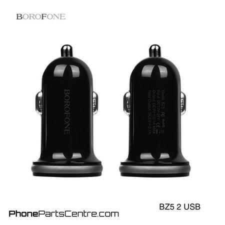 Borofone Borofone Autolader 2 USB BZ5 (10 stuks)