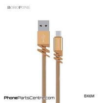 Borofone Micro-USB Kabel BX6M (10 stuks)