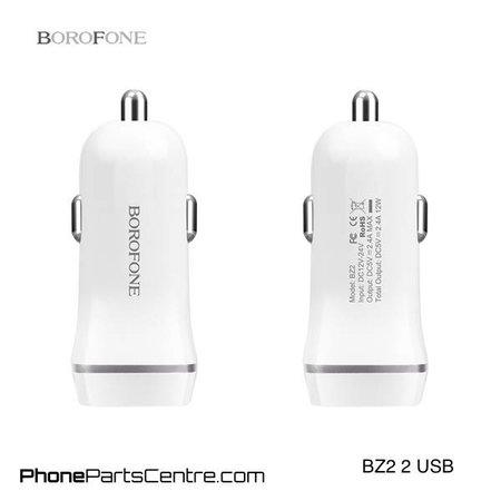 Borofone Borofone Autolader 2 USB BZ2 (10 stuks)
