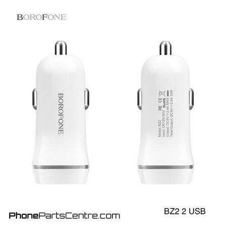 Borofone Borofone Car Charger 2 USB BZ2 (10 pcs)