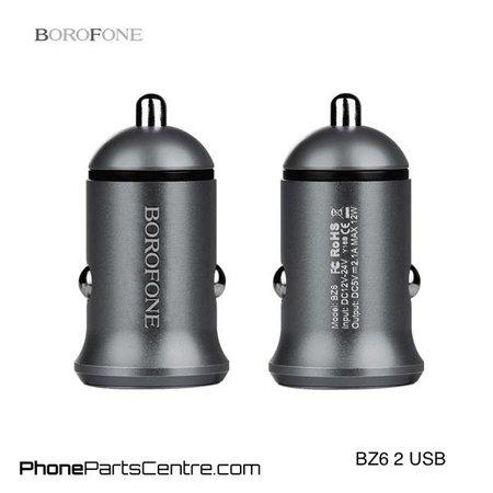 Borofone Borofone Autolader 2 USB BZ6 (10 stuks)