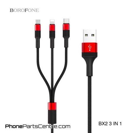 Borofone Borofone 3 in 1 Kabel BX2 (10 stuks)