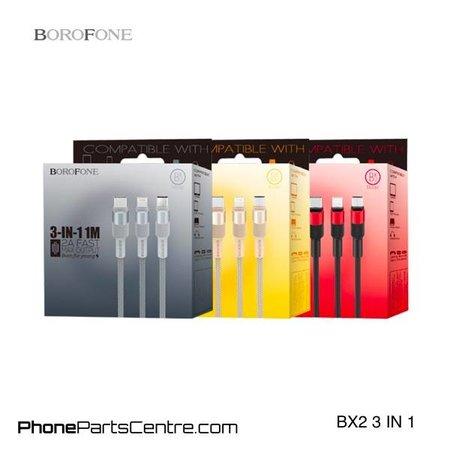 Borofone Borofone 3 in 1 Cable BX2 (10 pcs)