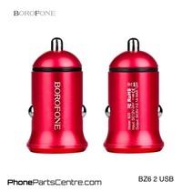 Borofone Autolader 2 USB BZ6 (10 stuks)