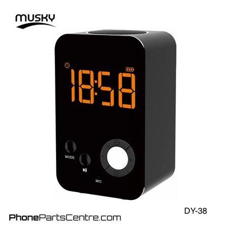 Musky Musky Bluetooth Speaker DY-38 (2 stuks)