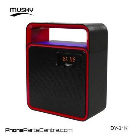 Musky Musky Bluetooth Speaker DY-31K (1 pcs)
