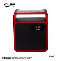 Musky Bluetooth Speaker DY-31 (2 pcs)