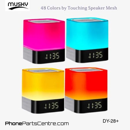 Musky Musky Bluetooth Speaker DY-28+ (2 pcs)
