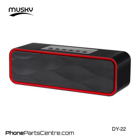 Musky Musky Bluetooth Speaker DY-22 (2 pcs)
