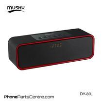 Musky Bluetooth Speaker DY-22L (2 stuks)