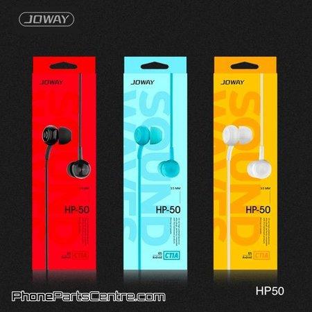 Joway Joway Oordopjes met snoer HP50 1.2m (10 stuks)