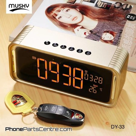 Musky Musky Bluetooth Speaker DY-33 (2 pcs)