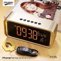 Musky Bluetooth Speaker DY-33L (2 stuks)