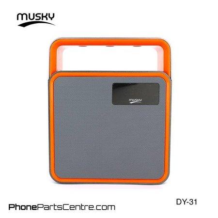 Musky Musky Bluetooth Speaker DY-31 (2 stuks)