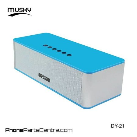 Musky Musky Bluetooth Speaker DY-21 (2 stuks)