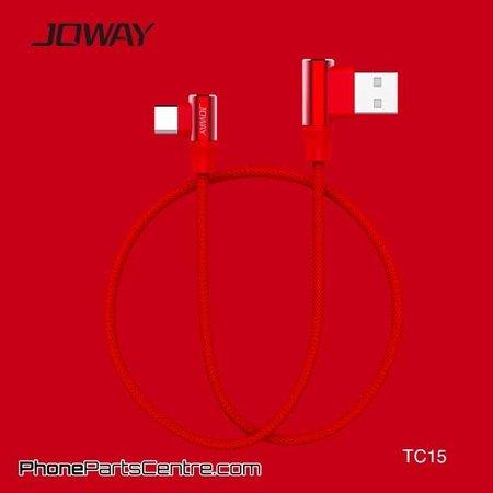 Joway Joway Type C Kabel TC15 1m (10 stuks)