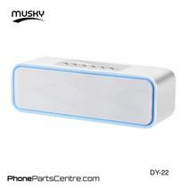 Musky Bluetooth Speaker DY-22 (2 stuks)
