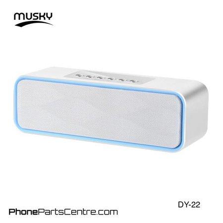 Musky Musky Bluetooth Speaker DY-22 (2 stuks)