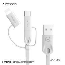 Mcdodo 3-in-1 Lightning Kabel + Micro-USB + Type C - CA-1090 1m (10 stuks)