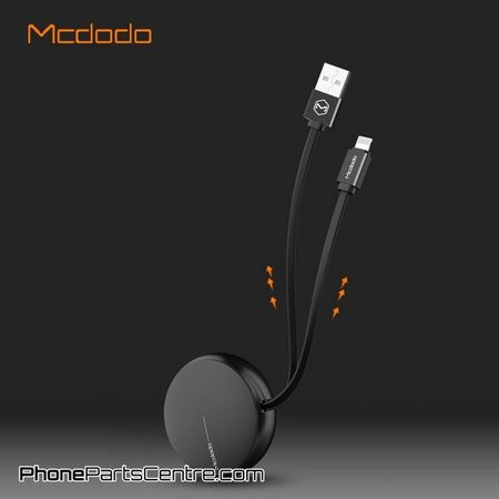 Mcdodo Mcdodo Rollable Lightning Cable - Circle Series CA-3431 90cm (5 pcs)