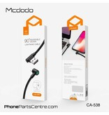 Mcdodo Mcdodo 90 Degrees with LED Lightning Cable - CA-5381 1.8m (10 pcs)