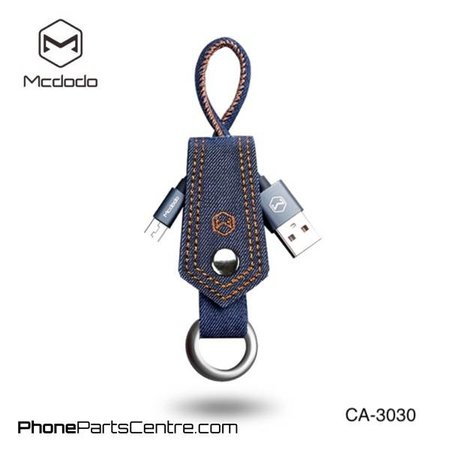 Mcdodo Mcdodo Micro-USB Kabel met sleutelhanger - CA-3030 15cm (10 stuks)
