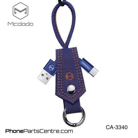 Mcdodo Mcdodo Type C Kabel met sleutelhanger - CA-3340 15cm (10 stuks)