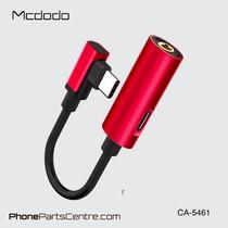 Mcdodo 2-in-1 Type C Kabel naar 3.5mm Jack AUX + Type C CA-5460 (10 stuks)