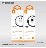 Mcdodo Mcdodo 2-in-1 Lightning Cable to 3.5mm Jack AUX + USB CA-3461 1.2m (5 pcs)