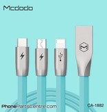 Mcdodo Mcdodo 3-in-1 Lightning Cable + Micro-USB + Type C - CA-1881 1.2m (5 pcs)