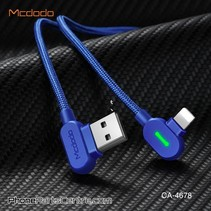 Mcdodo 90 Degrees Lightning Cable - Buttom Series CA-4673 1.8m (10 pcs)