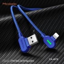 Mcdodo 90 Graden Lightning Kabel - Buttom Series CA-4673 1.8m (10 stuks)
