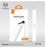 Mcdodo Mcdodo Powerbank met Ge•ntegreerde Kabel 10.000 mAh - Excelle series MC-4941 (2 stuks)