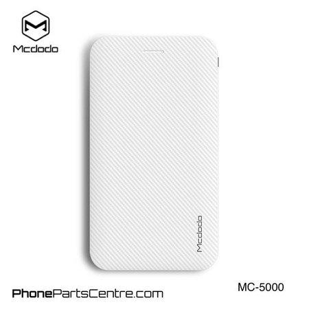 Mcdodo Mcdodo Powerbank Integrated Cable 5.000 mAh - Excelle series MC-5001 (5 pcs)