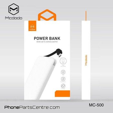 Mcdodo Mcdodo Powerbank met Ge•ntegreerde Kabel 5.000 mAh - Excelle series MC-5001 (5 stuks)