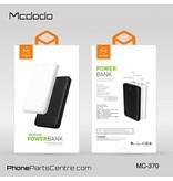 Mcdodo Mcdodo Powerbank 10.000 mAh - Jager series MC-3701 (2 stuks)
