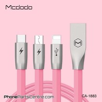 Mcdodo 3-in-1 Lightning Kabel + Micro-USB + Type C - CA-1881 1.2m (5 stuks)